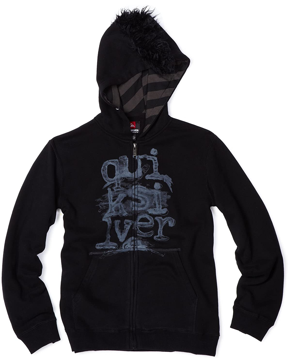 Quiksilver Big Boys Gutless Hoodie with Pocket