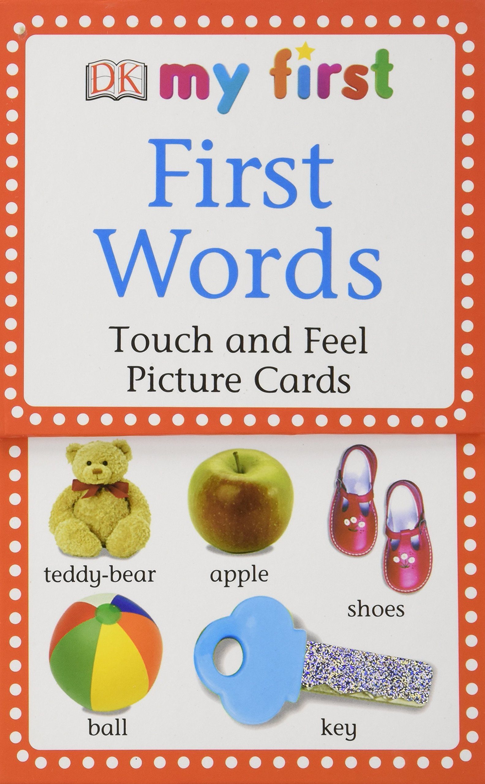 My First Touch & Feel Picture Cards First Words My 1st T&F