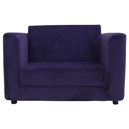Amazon.com: Foxhill Trading Sandy Kids Sleeper Chair, Purple ...