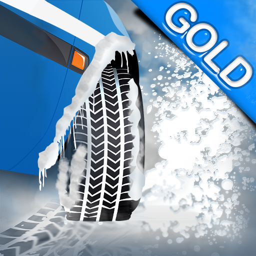 Winter Snow Tires Agility Race : The Arctic Car Ice Traction Road - Gold Edition