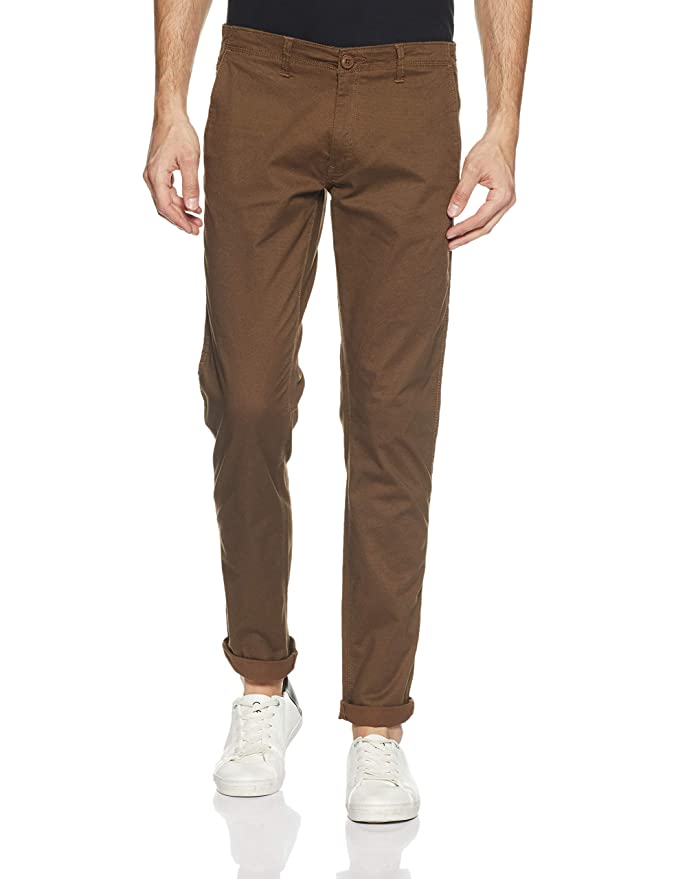Cherokee by Unlimited Men's Slim Fit Chinos Men's Jeans at amazon