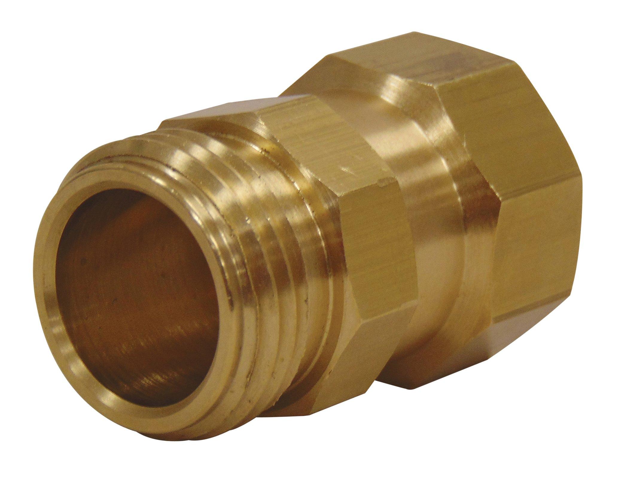 Dramm 13825 Brass Hose Swivel