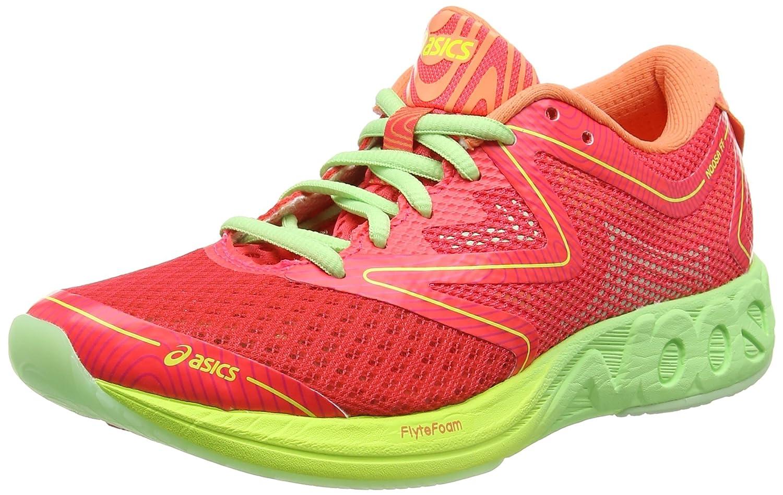Asics Noosa FF, Zapatillas de Running para Mujer 37 EU Multicolor (Diva Pink/Paradise Green/Melon)