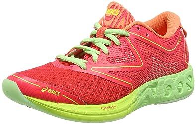 Asics Noosa Ff, Zapatillas de running Mujer, Multicolor (Diva Pink/Paradise Green/Melon), 41.5 EU: Amazon.es: Zapatos y complementos