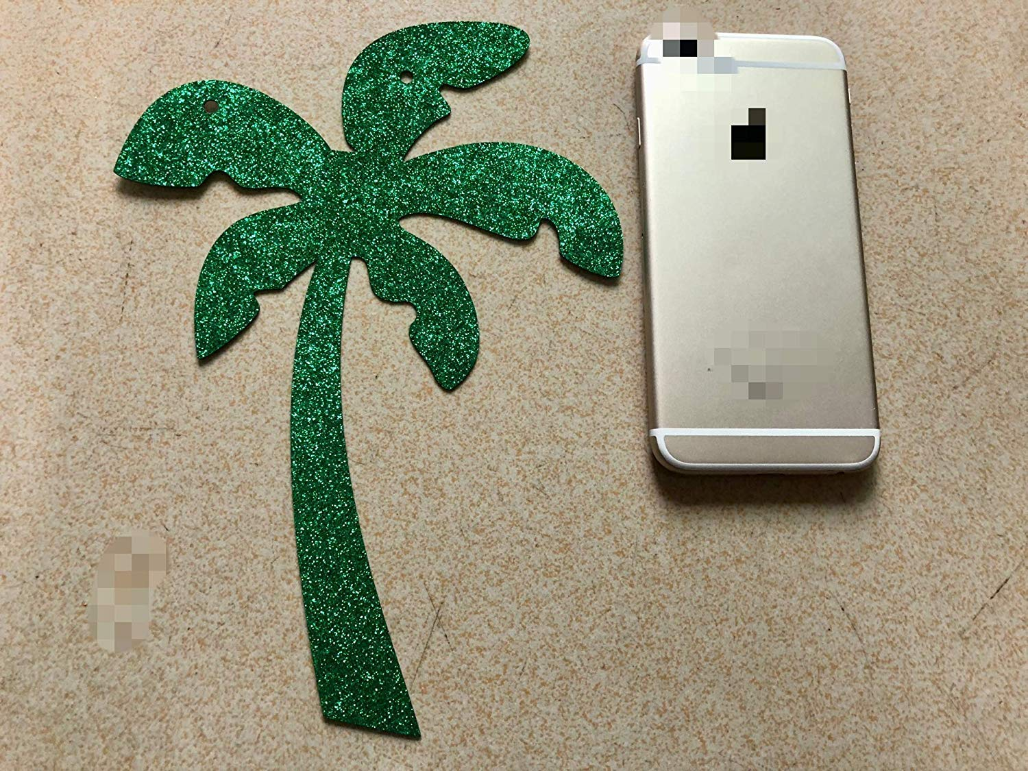 Hawaii Luau Summer Beach Party Decoration Supplies Gold Glittery Drink Up Beaches Coconut Tree Banner