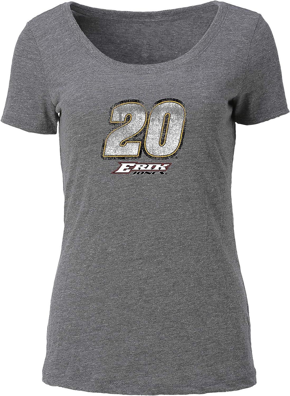 Ouray Sportswear NASCAR Womens Tri Blend Scoop-Neck Tee