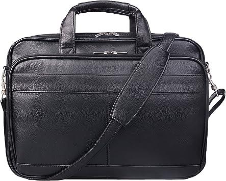 Kenneth Cole Briefcase Expandable Vintage Laptop Case Bag Attache Bags Men Black