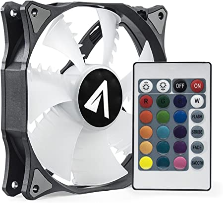 Abysm RGB SLED - Ventilador Gaming PWM de 120 mm con Mando a ...