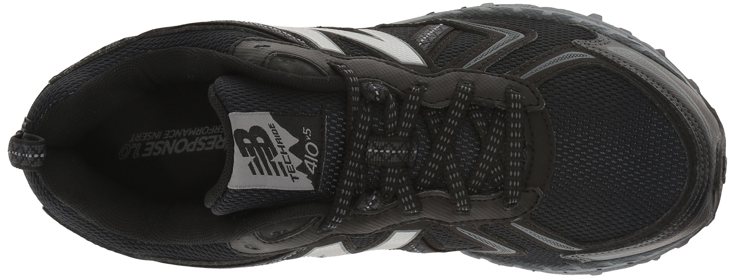 New Balance Men's MT410v5 Cushioning Trail Running Shoe, Black, 7 D US by New Balance (Image #8)
