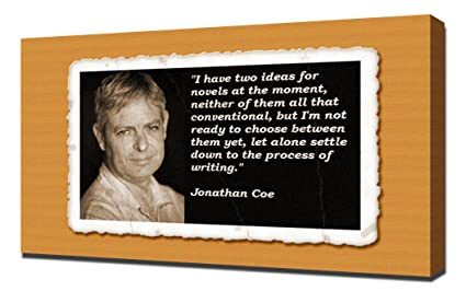 Amazoncom Jonathan Coe Quotes 5 Canvas Art Print Posters Prints