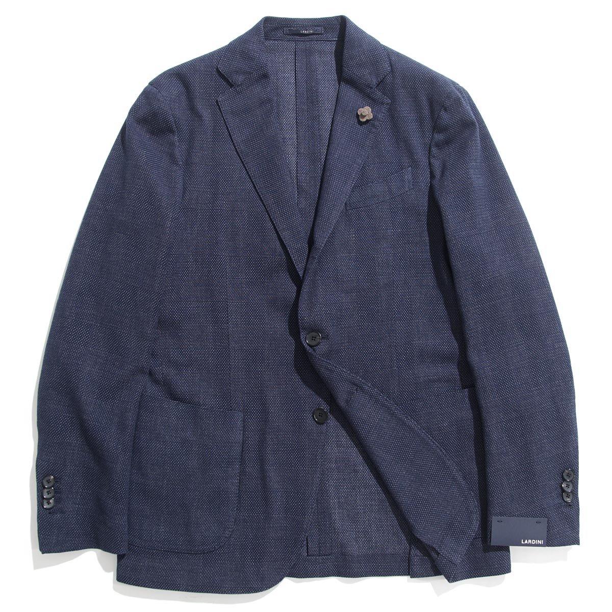 (ラルディーニ) LARDINI 3つボタン ジャケット [並行輸入品] B07DG6GQ9P 50|インディゴ インディゴ 50