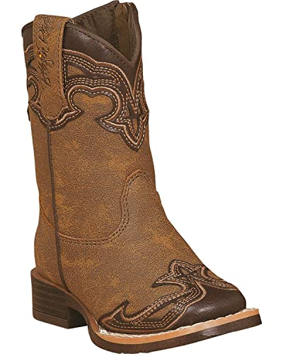 9bcb82c05ad Amazon.com | Blazin Roxx Toddler-Girls' Samantha Zipper Cowgirl Boot ...
