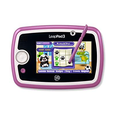 LeapFrog LeapPad3 Kids' Learning Tablet, Pink: Toys & Games