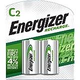 Energizer - Pilas recargables C2 (2 unidades)
