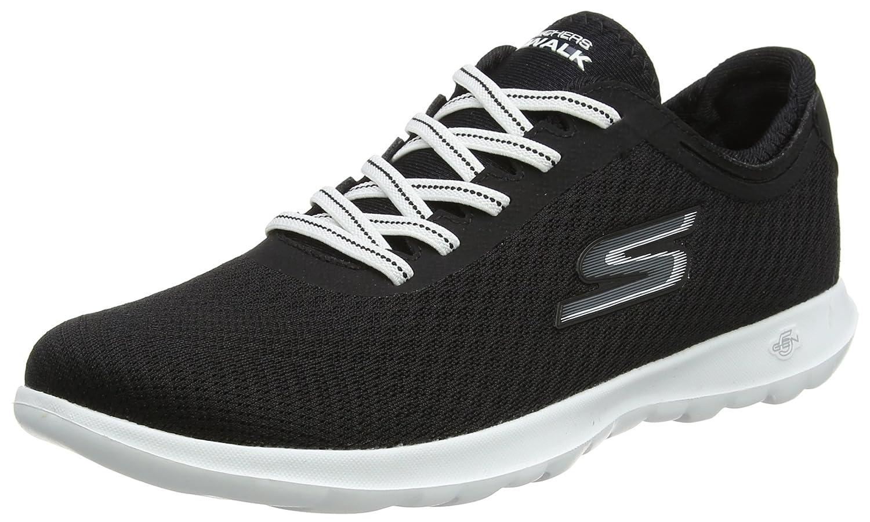 Skechers Walk Damen Go Walk Skechers Lite-Impulse Sneaker Schwarz (schwarz/Weiß) 8ed6a2