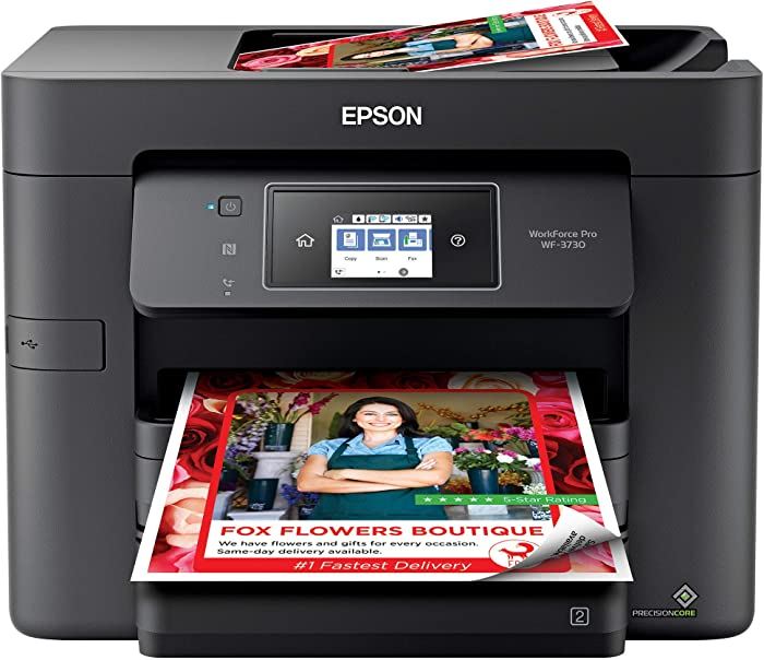 Updated 2021 – Top 10 Epson Xp4105 Expression Home Printer