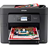 Epson WorkForce Pro WF-3730 All-in-One Wireless Color Printer with Copier, Scanner, Fax and Wi-Fi Direct,Black,10-1/2 x…