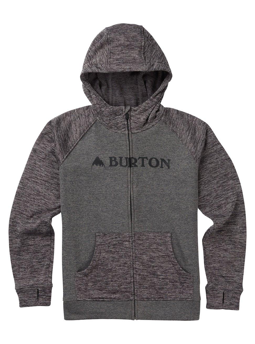 Burton Oak Full Zip Hoodie BRRS5|#Burton