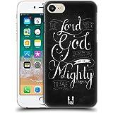 Head Case Designs Mächtig Bekannten Versen Aus Der Bibel Ruckseite Hülle für Apple iPhone 7