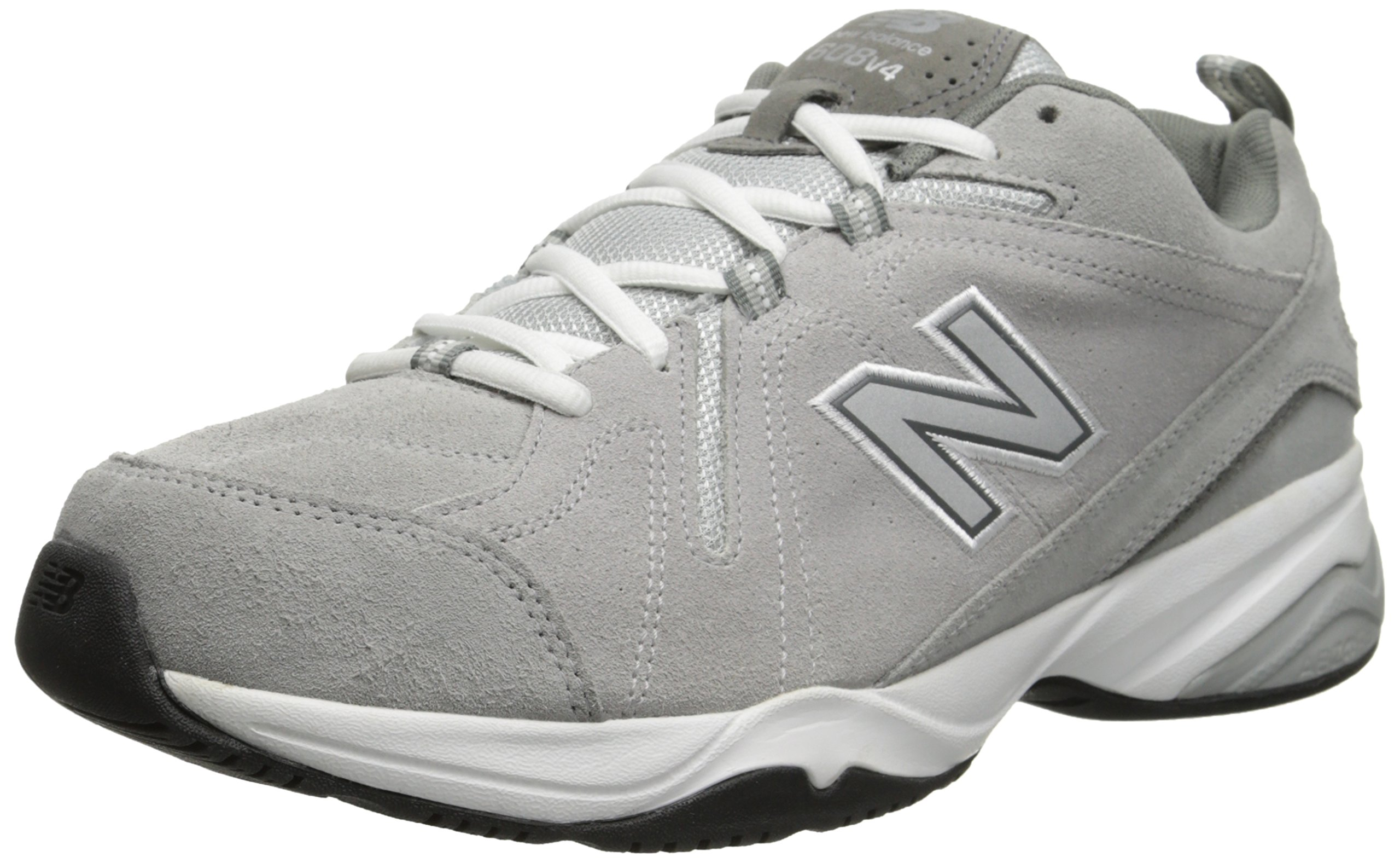 New Balance Men's MX608v4 Training Shoe, Grey, 12 4E US