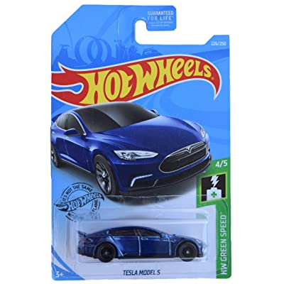 Hot Wheels Super Treasure Hunt Tesla Models S 226/250: Toys & Games