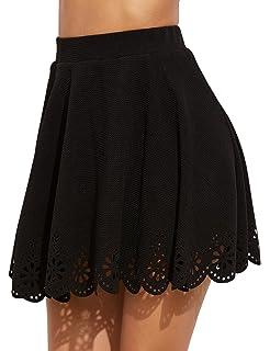 d7872cdb844b Amazon.com: PARIS SUNDAY Women's Short Lace Skirt: Clothing