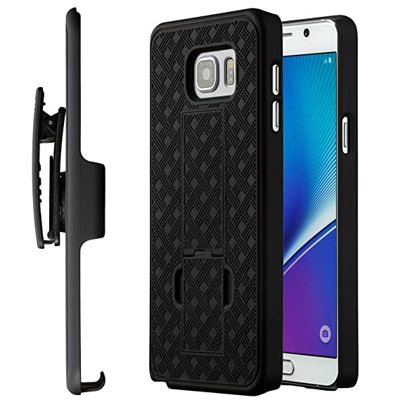 the latest bf697 bf5c8 Note 5 Case, Moona Shell Holster Combo Case for Samsung Note 5 with  Kick-Stand & Belt Clip 10 Year Warranty! - Note 5 Belt Clip Case, Note 5  Holster ...