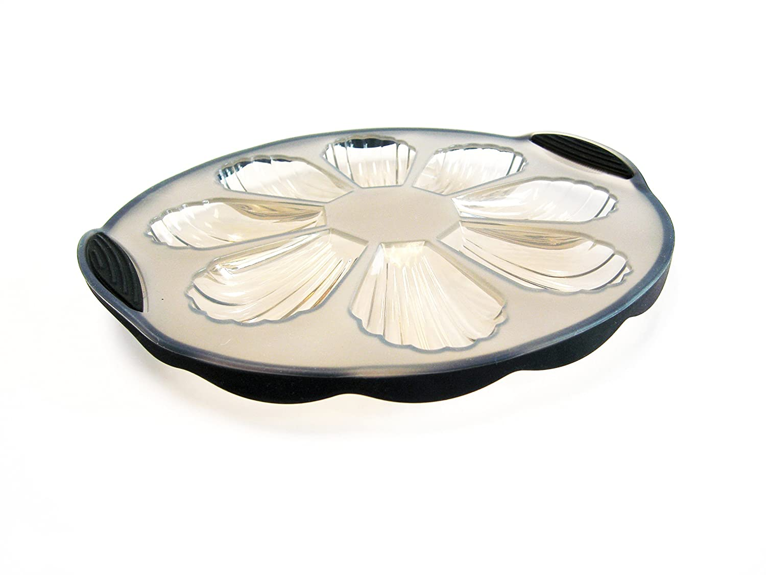 Oven BPA Free Freezer Microwave Clear /& Green SiliconeZone SZ05 CM 10128 AK Pure Collection 9 Silicone Non-Stick Round Cake Pan Dishwasher Safe