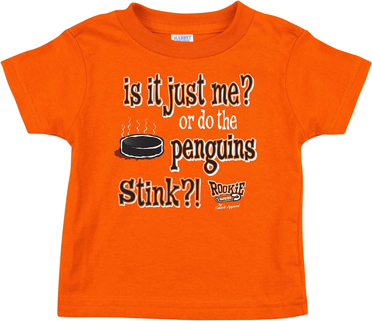 Orange Onesie or Tee NB-4T is It Just Me? Or do The Penguins Stink? Rookie Wear by Smack Apparel Philadelphia Hockey Fans