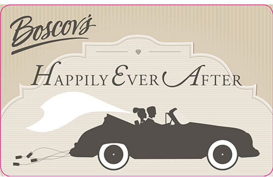Boscov's Happily Ever After Gift Card | Boscov's