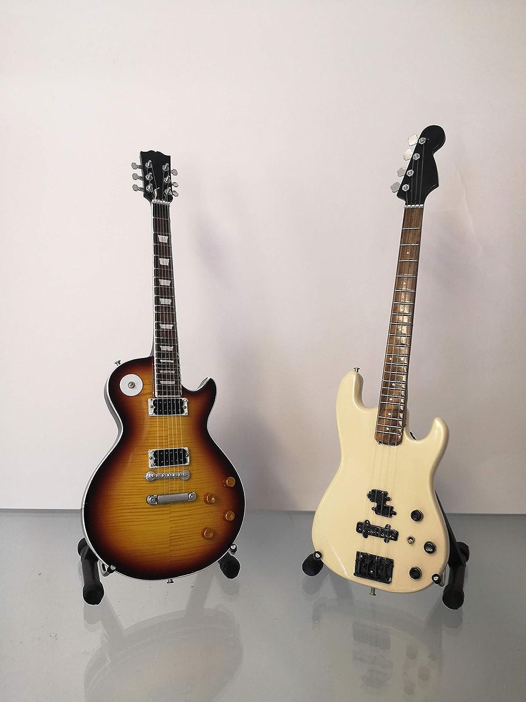 Miniatura Guitarra Replica Set: Guns n Roses – Slash y Duff ...