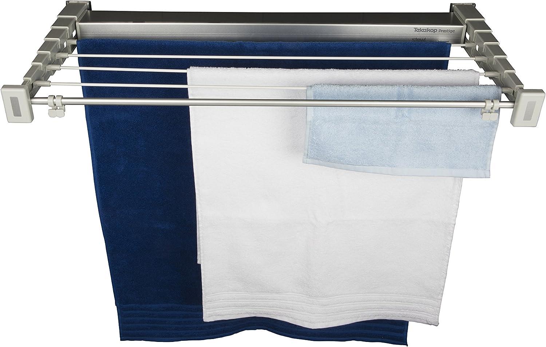 80/x 10/cm Aluminium//Plastic White STEWI Clothes Dryer