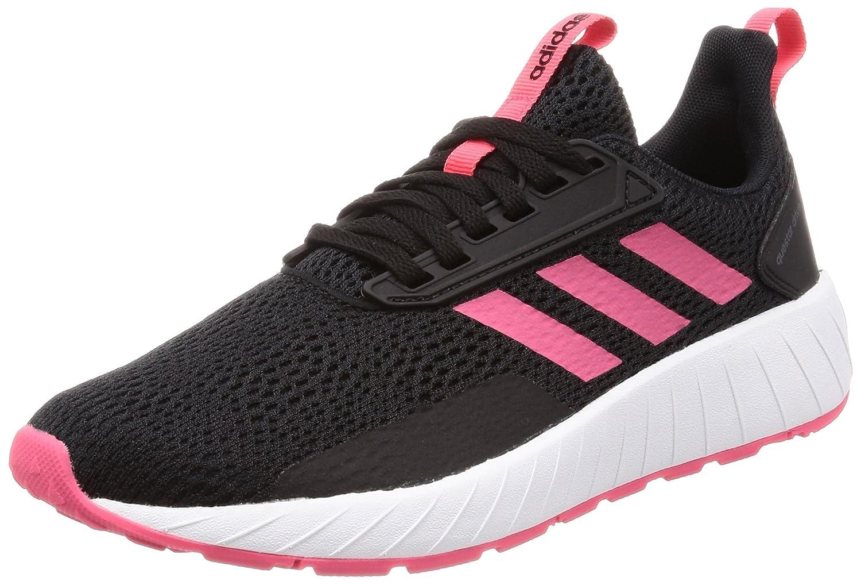 adidas Damen Questar Drive Gymnastikschuhe  38 2/3 EU|Schwarz (Core Black/Real Pink S18/Shock Red S16)