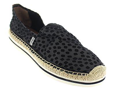 a1cbb14580 Joy   Mario Women s Lingerie Sport Espadrille Shoes Flats 51011W (Black in  Size  6