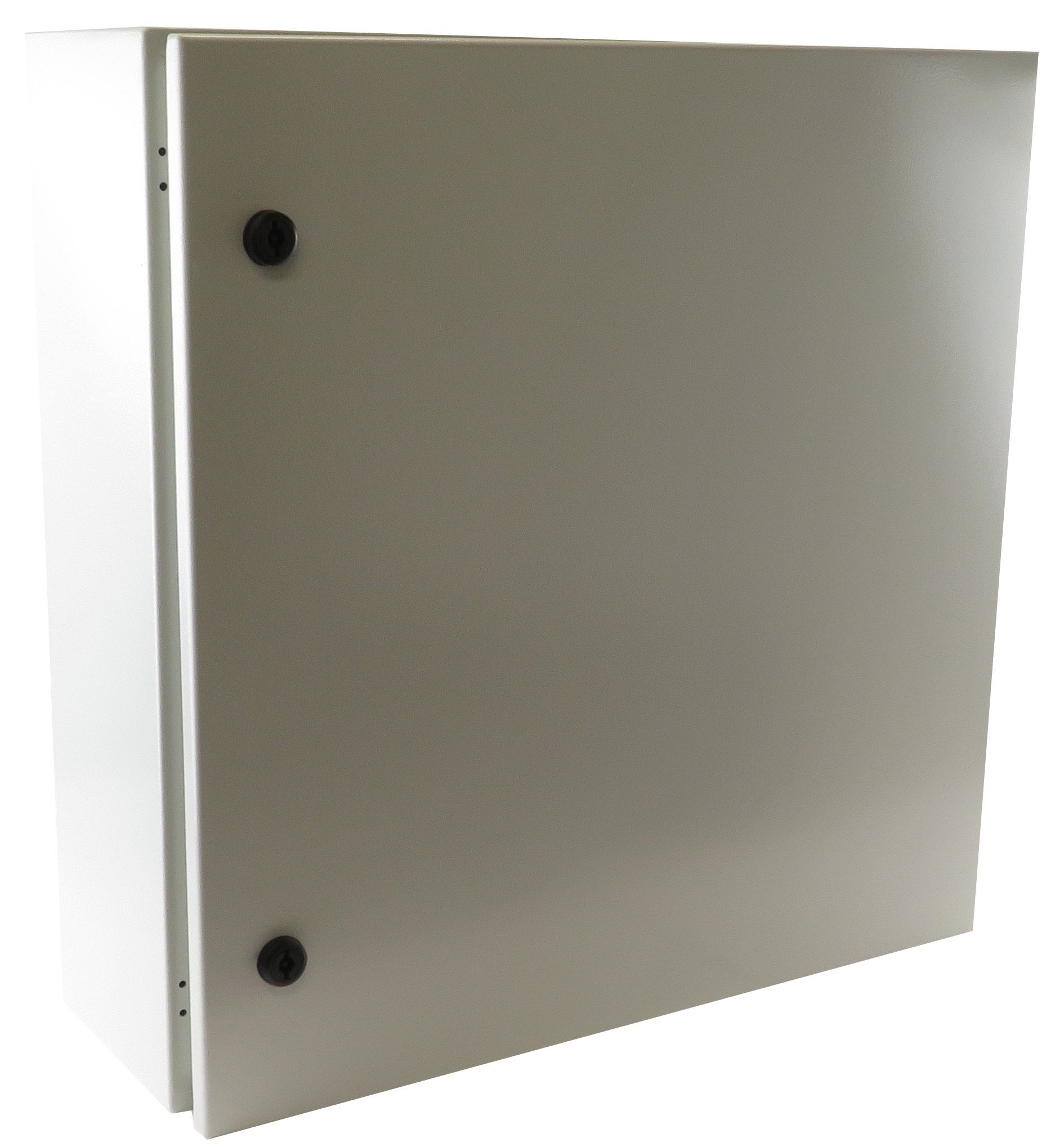Yuco Fully Enclosed (No Gland Plate) IP66 Enclosure, UL Certified, Nema 4, 16 Gauge, Single Door Hinge Cover, Wall-Mount, Galvanized Backplate (24 x 20 x 10)