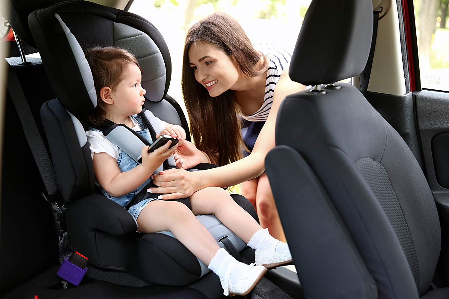 Makes Receptacle Stand Upright Buckling Seat Belt Buckle Booster 1 - Raises Your Seat Belt for Easy Access Stop Fishing for Buried Seat Belts BPA Free