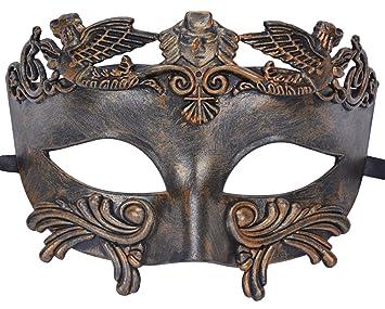 Amazon.com: Coxeer máscara veneciana para hombre, máscara ...