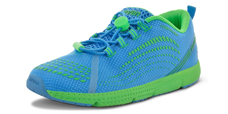Zeven Thrust 1.0 Mesh Running Shoes, Men's (Blue)