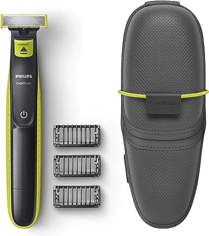 Philips OneBlade QP2520/65 - Recortador de Barba con 3 peines y ...