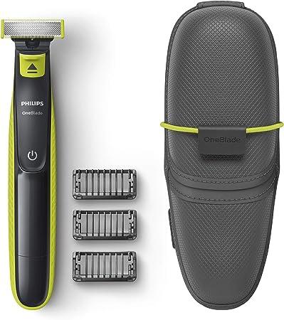 Philips OneBlade QP2520/65 - Recortador de Barba con 3 peines y funda de viaje: Amazon.es: Salud y cuidado personal