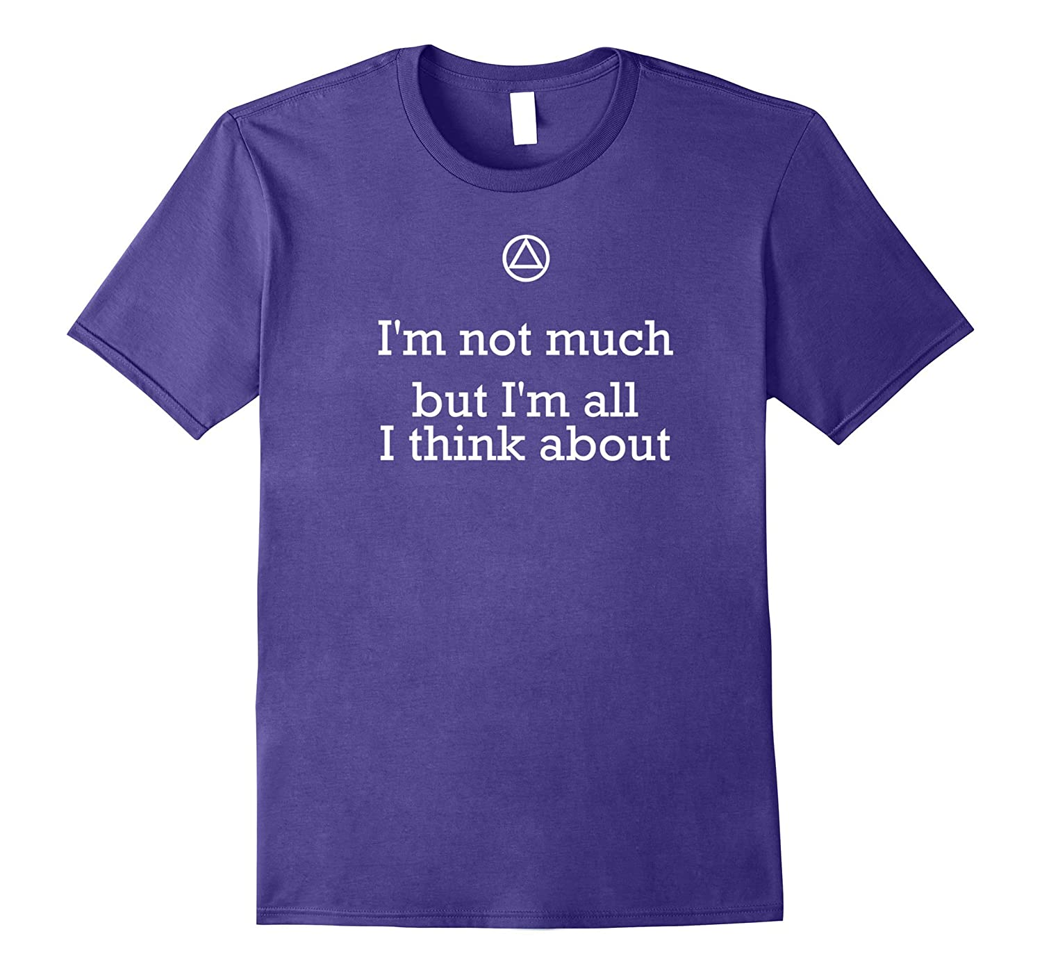 Funny AA T-Shirt - Im Not Much But 12 Step Recovery-CD