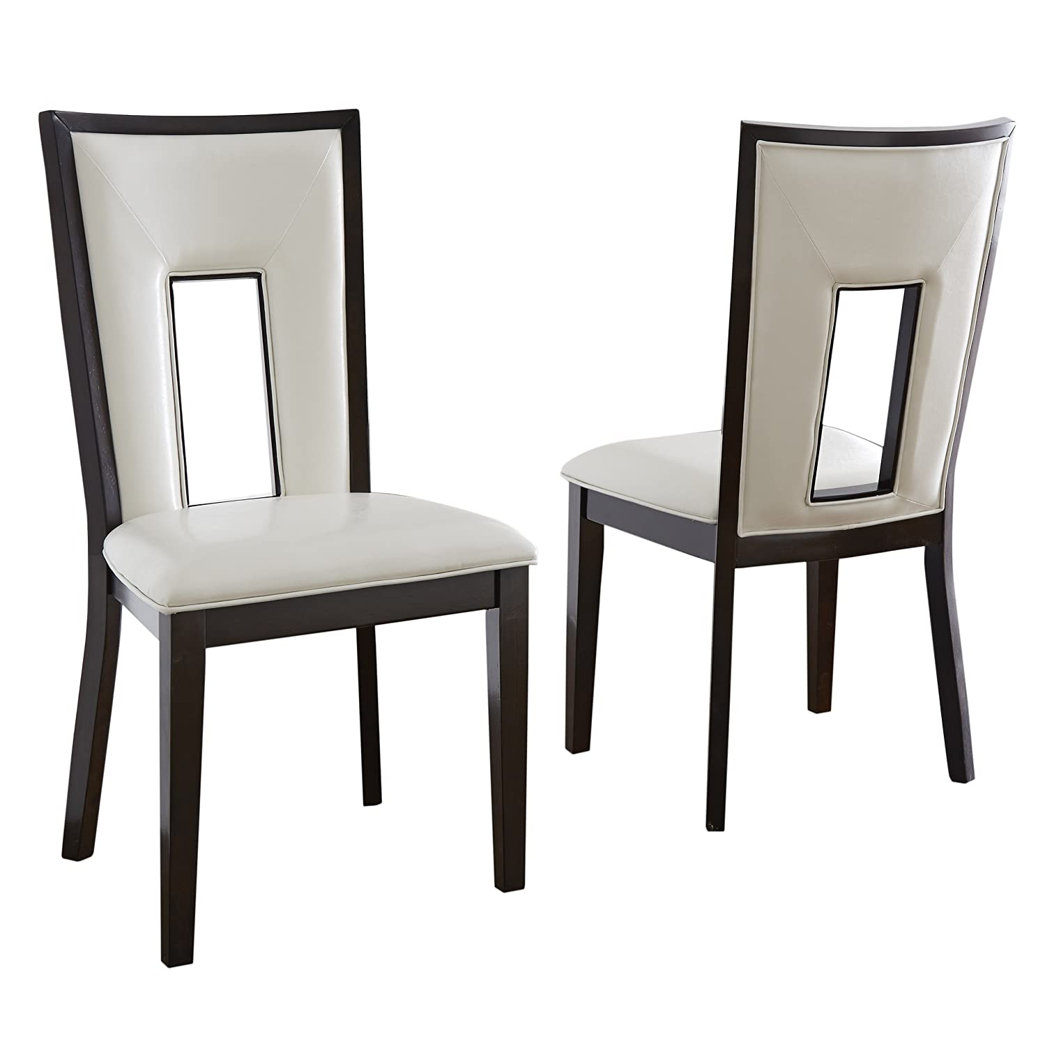 Steve Silver Company Delano Side Chairs Set of 2 , 19 x 23 x 40