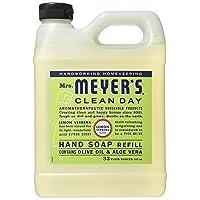 Deals on Mrs. Meyers Liquid Hand Soap Refill Lemon Verbena 33oz