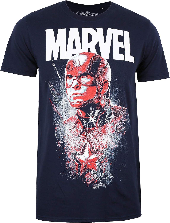 Marvel Avengers Steve Rogers Camiseta para Hombre: Amazon.es: Ropa ...