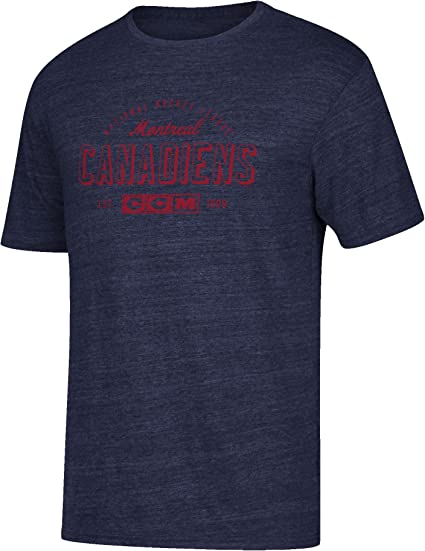 new product pretty nice various styles CCM NHL Men's Montreal Canadiens Speed Zone Tee, M/M: Amazon.ca ...