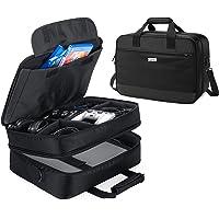 حقيبة حمل للسفر من كوريو متوافقة مع جهاز بلاي ستيشن 4 برو وملحقاته، منظم حقيبة تخزين محمول لجهاز بلاي ستيشن 4 برو، وجهاز…