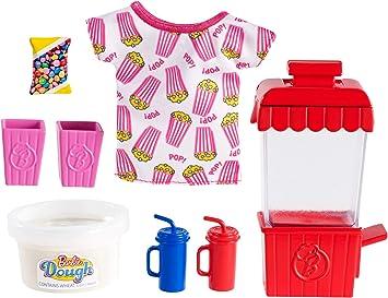 Amazon.es: Barbie Pack de Accesorio Pasteleria y Cocina, Maquina para Hacer Popcorn (Mattel GHK39): Juguetes y juegos