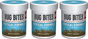 (3 Pack) Fluval Bug Bites Tropical Formula for Small to Medium Fish