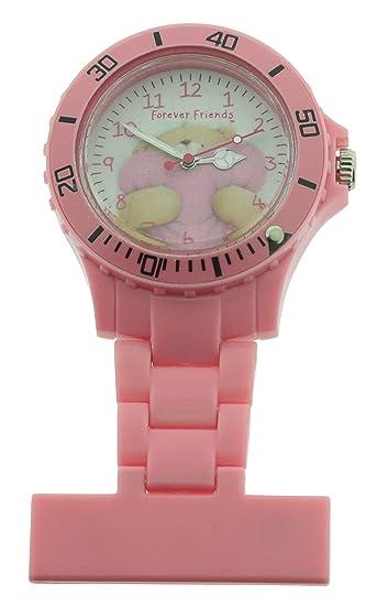 Forever Friends FFR73/A - Reloj mujer (Nurses Fob), color rosa: Amazon.es: Relojes