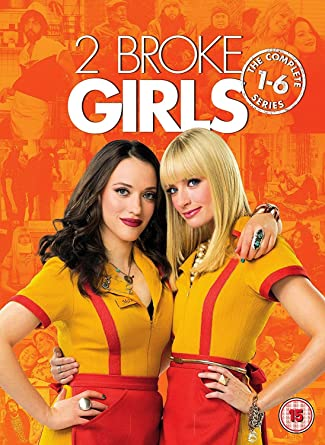 2 Broke Girls The Complete Series 1 6 Dvd 2017 Amazonco